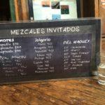 Txalaparta Mezcales invitados menu