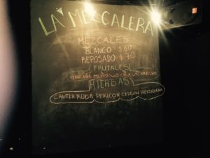 La Mezcalera herbal advertisement