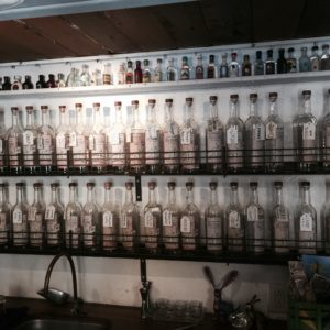 Some In Situ Mezcal Inventory